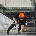 commercial High rise window cleaning melbourne height safety