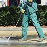 pressure cleaning melbourne graffiti removal chewing gum removal